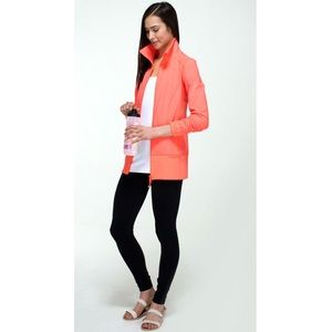 Lululemon Nice Asana Jacket Very Light Flare 10